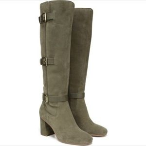 NEW Franco Sarto Tall Suede Boots NWT